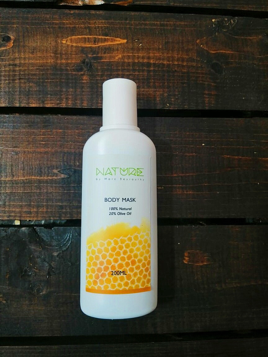 Body Mask قناع الجسم (Bottle) - Honey Cosmetics