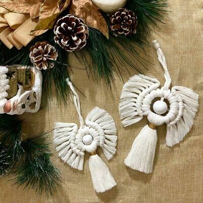 Macramé - Ornament Angels (Piece) - Spot the Knot
