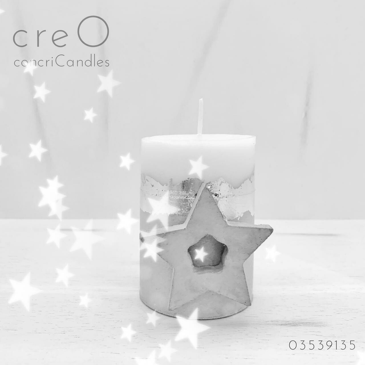 Candles Concrete (Piece) - creO