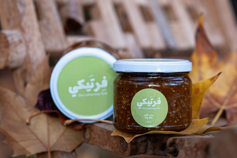 Fig Jam مربى التين (Jar) - Fertaike