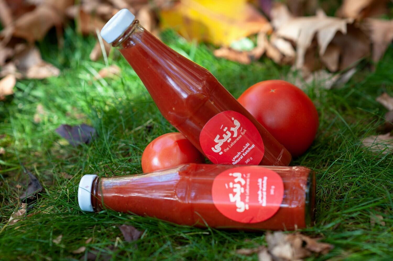Natural Ketchup كاتشب طبيعي (Bottle) - Fertaike