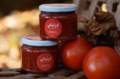Tomato Hot Sauce - Dip صلصة الطماطم الحارة (Jar) - Fertaike