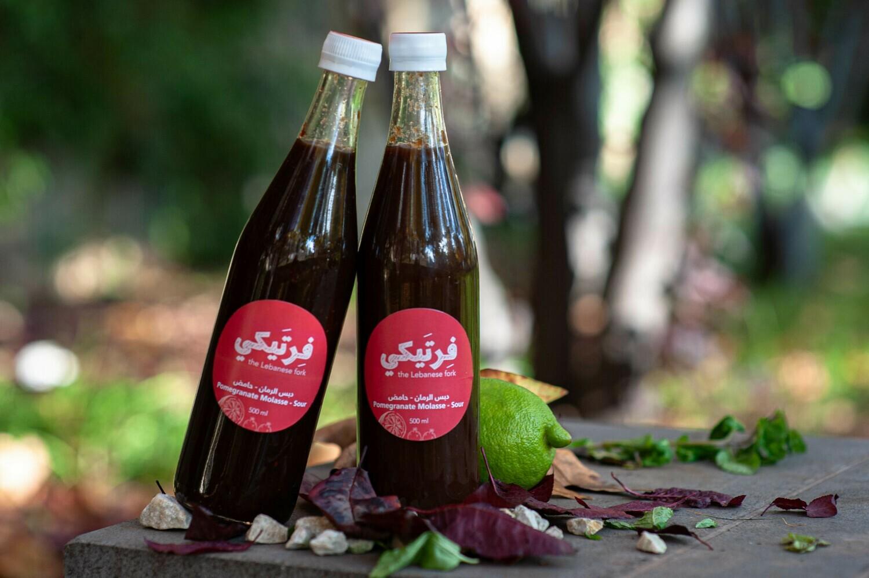 Molasse Pomegranate Sour دبس الرمان (Bottle) - Fertaike