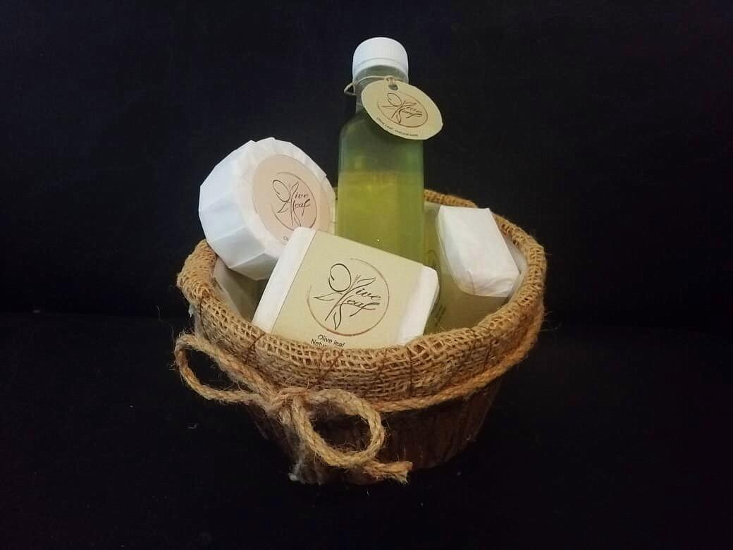 Let Your Skin Shine - Olive Leaf