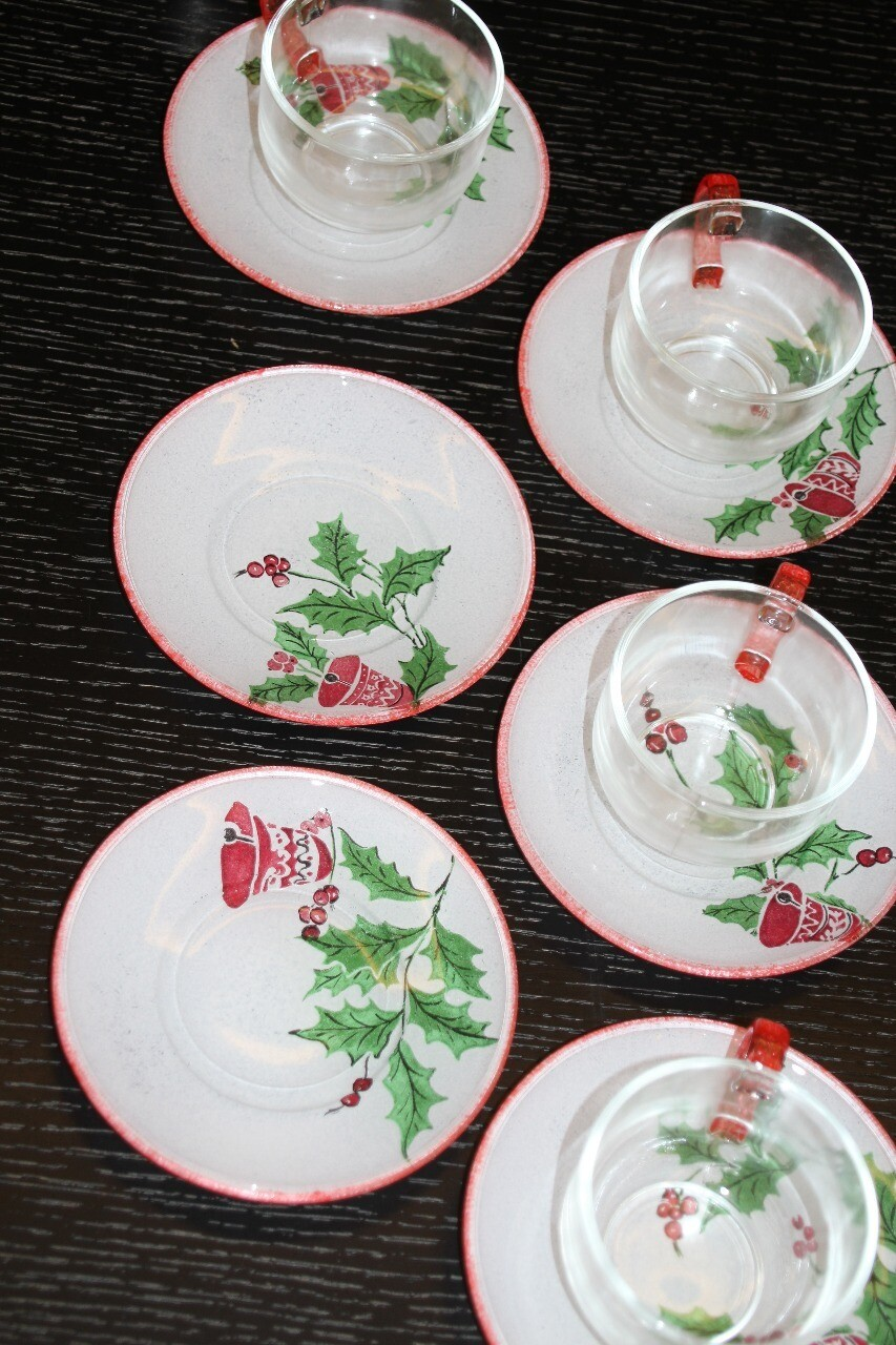 Tea Cups Glass (Piece) - Coup de Glue