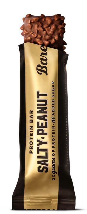 Bar Protein Chocolate Salty Peanut (Bar) - Barebells