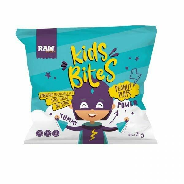 Chips Kids Corn Peanut (Bag) - Raw Bites