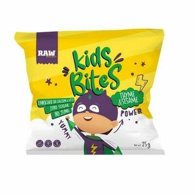Chips Kids Corn Thyme & Sesame (Bag) - Raw Bites