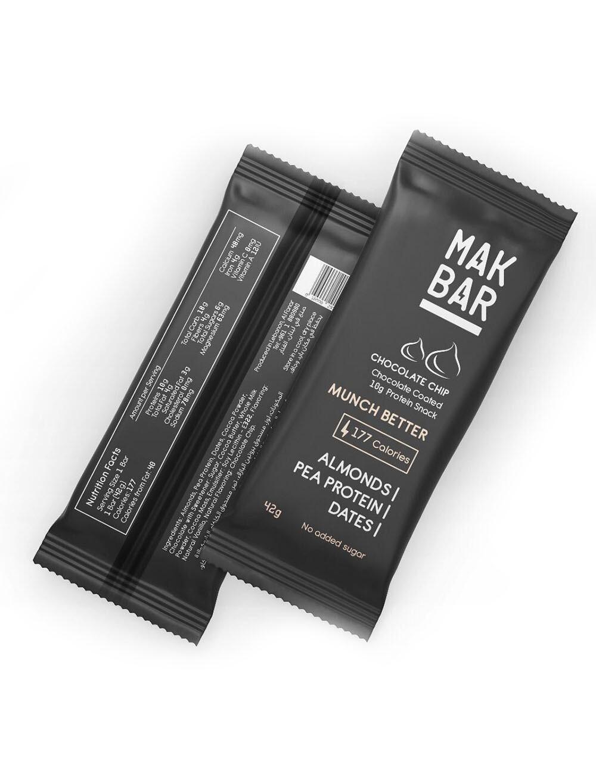 Bar Protein Chocolate Chips (Bar) - Mak Bar