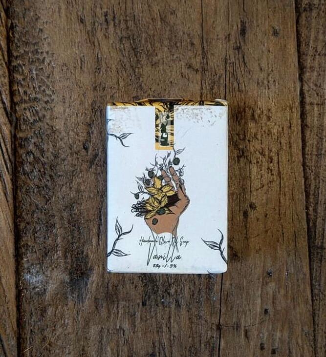 Soap Vanilla صابون الفانيليا (Piece) - Laila