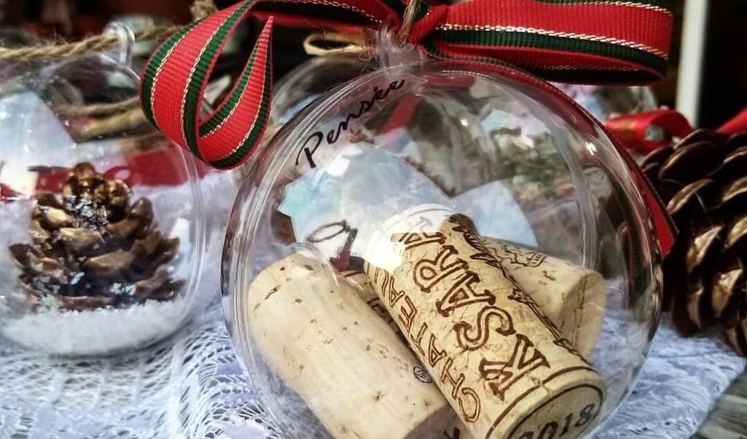 Ball Christmas Corks (Piece) - Pensee