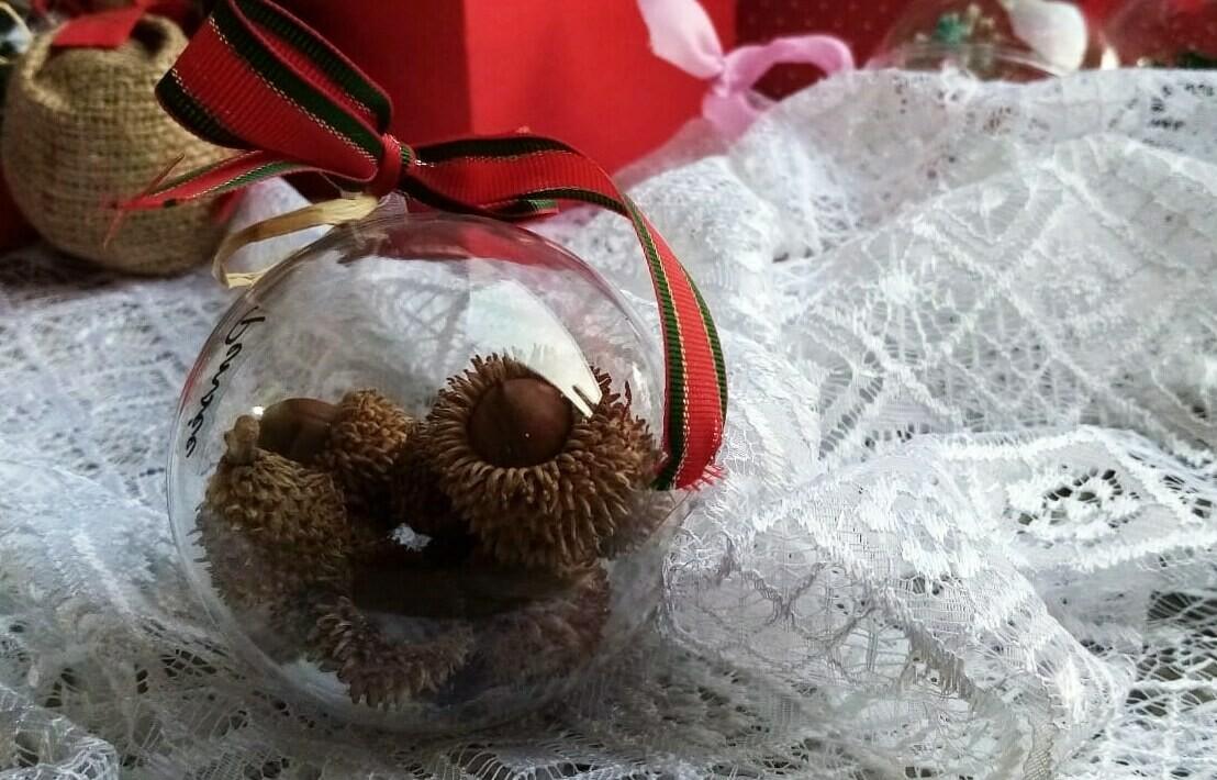 Ball Christmas Oak Cones (Piece) - Pensee