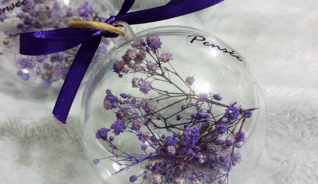 Ball Christmas Gypsophila (Piece) - Pensee