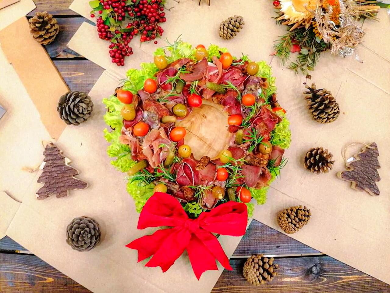 Christmas Coldcut's Wreath - Chef. Marc Ghaoui