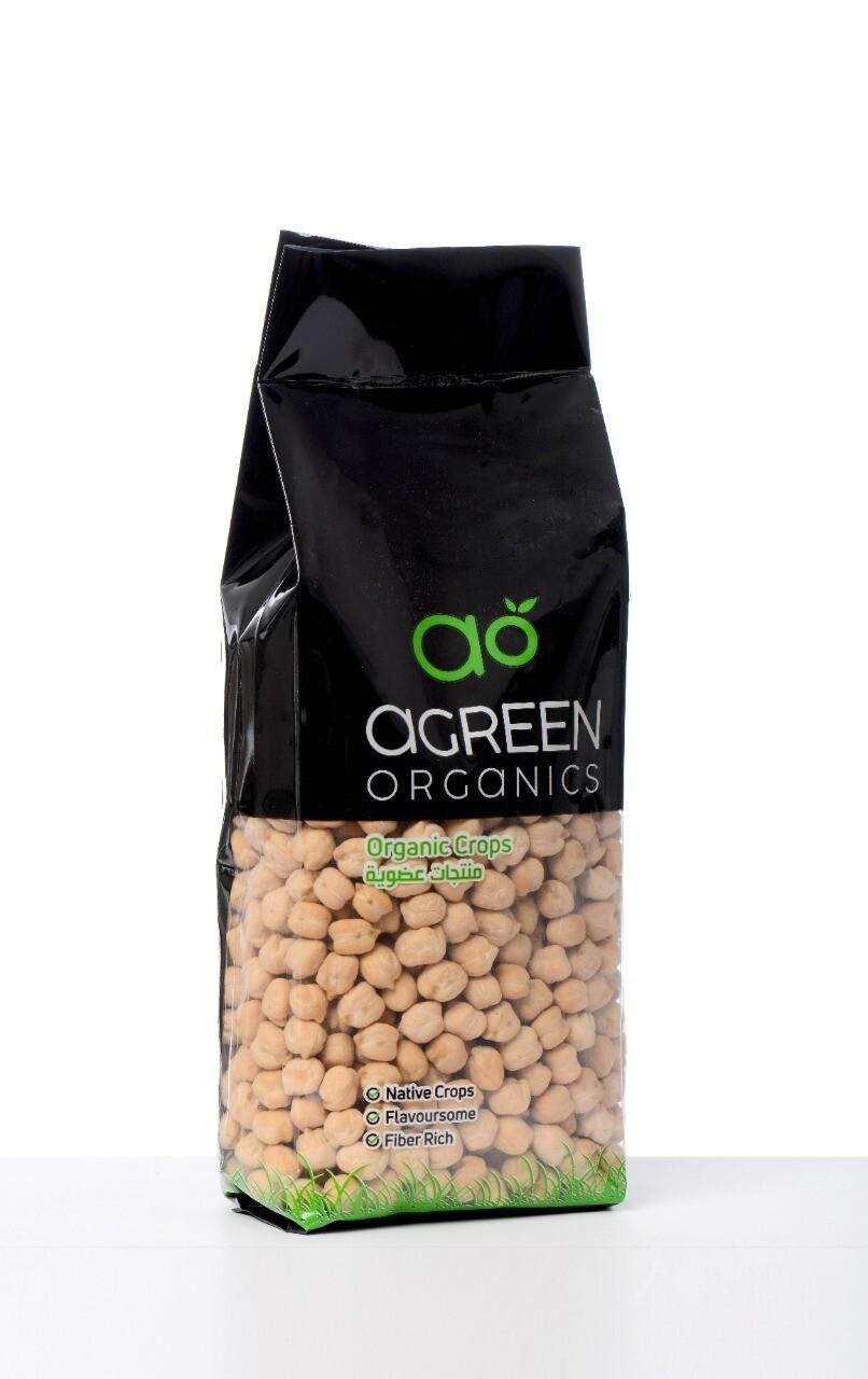Chickpeas Pulses حبوب الحمص (Bag) - Agreen Organics