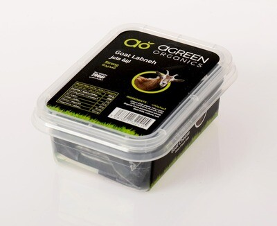 Goat Labneh Organic (Strong) ماعز لبنة (قوي) (Pack) - Agreen Organics