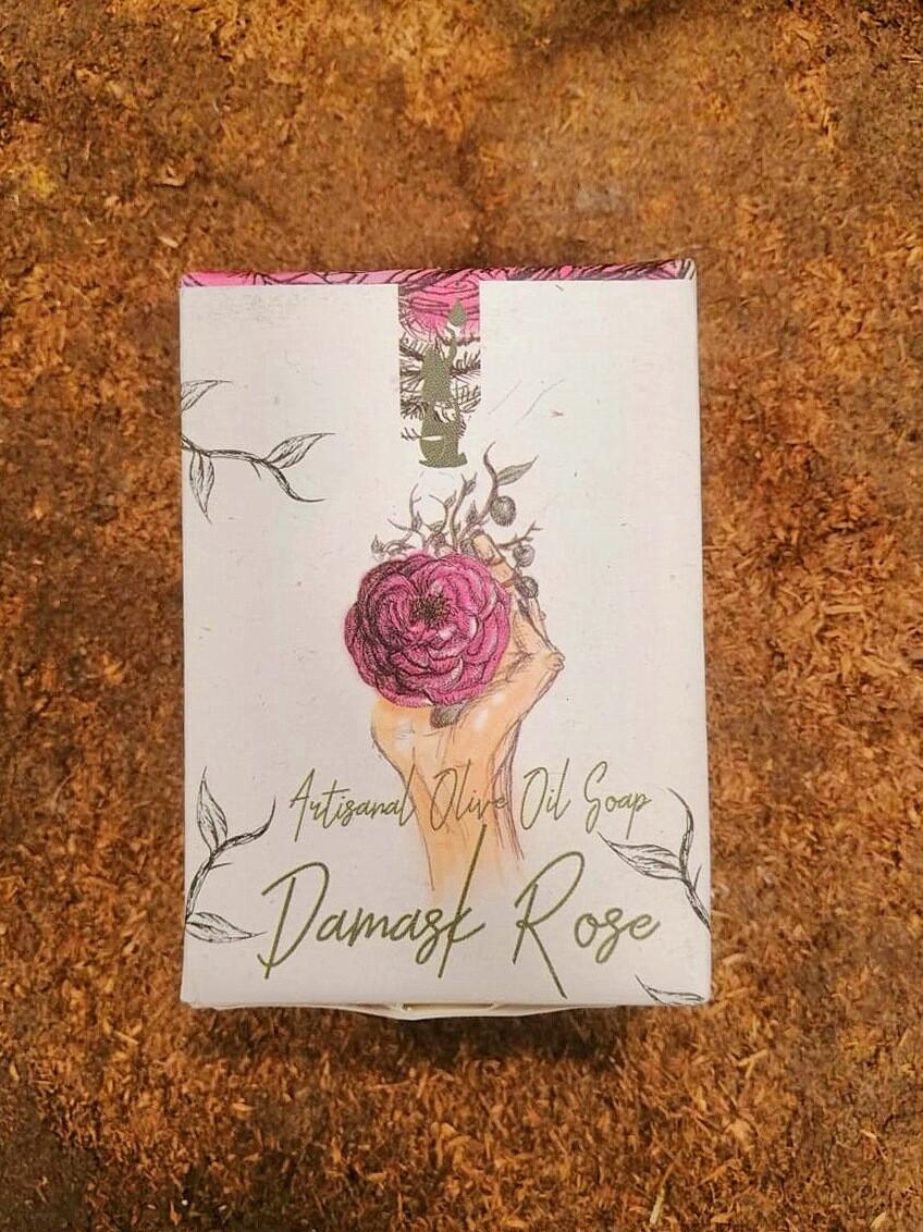 Soap Rosewater صابون ماء الورد (Piece) - Laila