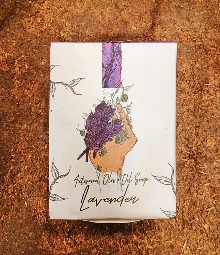 Soap Lavender صابون لافندر (Piece) - Laila