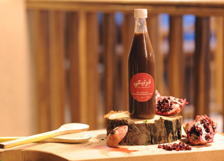 Molasse Pomegranate Sweet Sugar Free دبس الرمان (Bottle) - Fertaike
