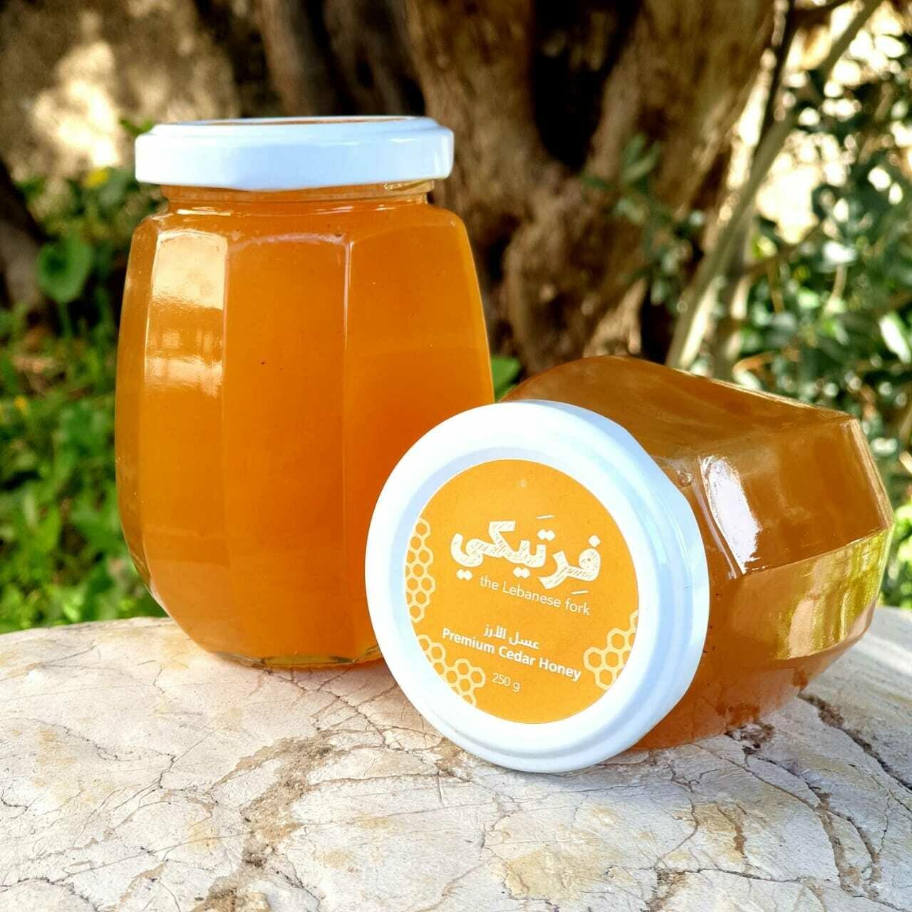 Honey Cedar Premium عسل الأرز الفاخر (Jar) - Fertaike