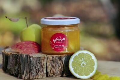 Apple Lemon Jam مربى التفاح والليمون (Jar) - Fertaike