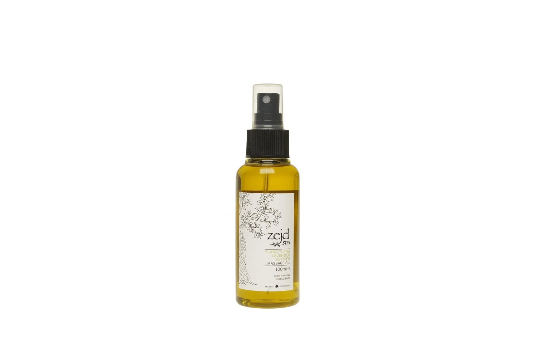 Massage Oil Ylang and Vetiver (Bottle) - Zejd