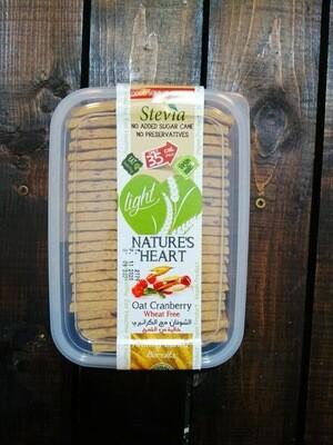 Cookies Stevia Oat Cranberry (Box) - Nature's Heart