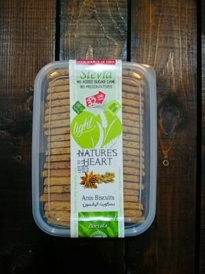 Cookies Stevia Anis (Box) - Nature's Heart