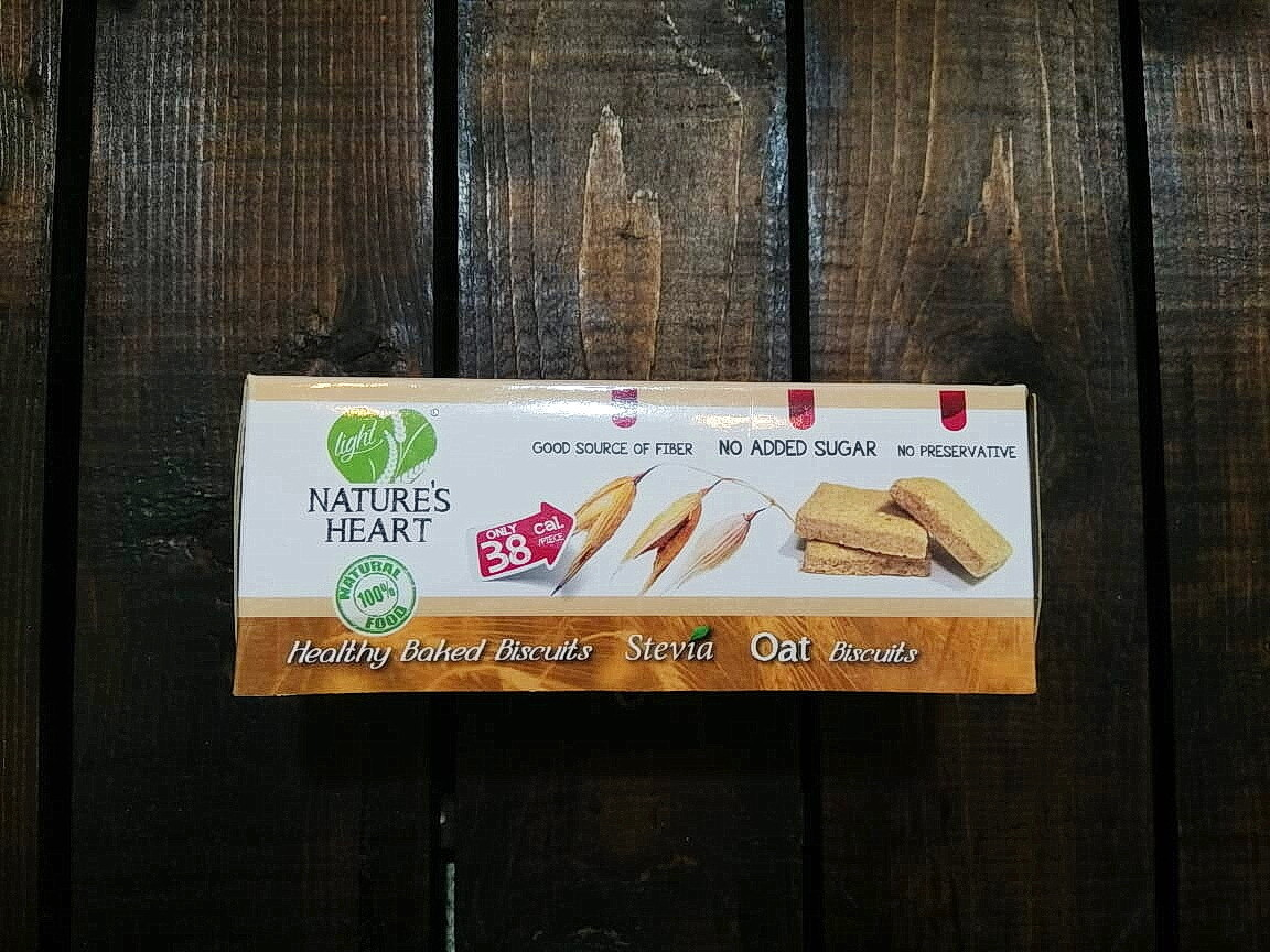 Cookies Stevia Oat (Box) - Nature's Heart