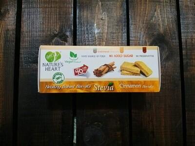 Cookies Stevia Cinnamon (Box) - Nature's Heart