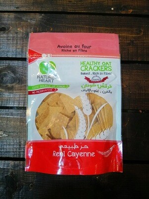 Crackers Oat Cayenne (Bag) - Nature's Heart