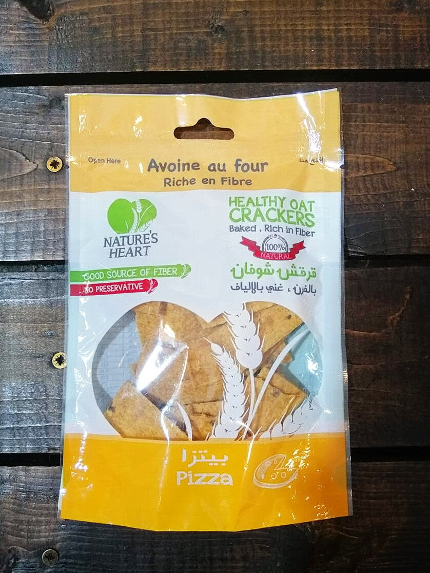 Crackers Oat Pizza (Bag) - Nature's Heart