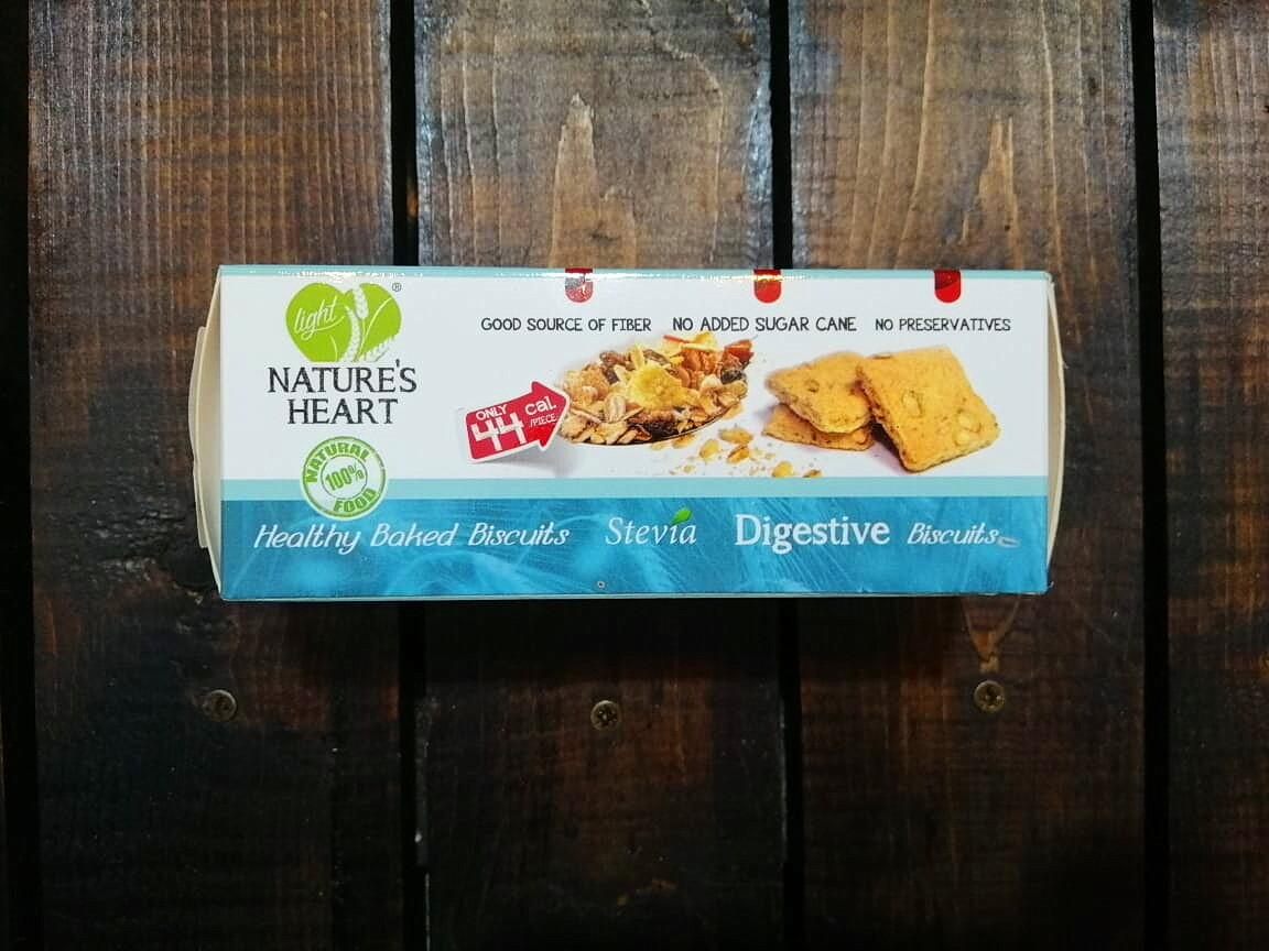 Cookies Stevia Digestive (Box) - Nature's Heart