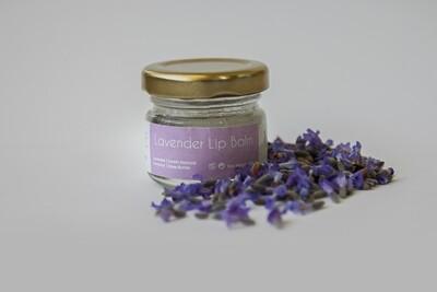 Lip Balm Lavender بلسم الشفاه (Jar) - Oleaf