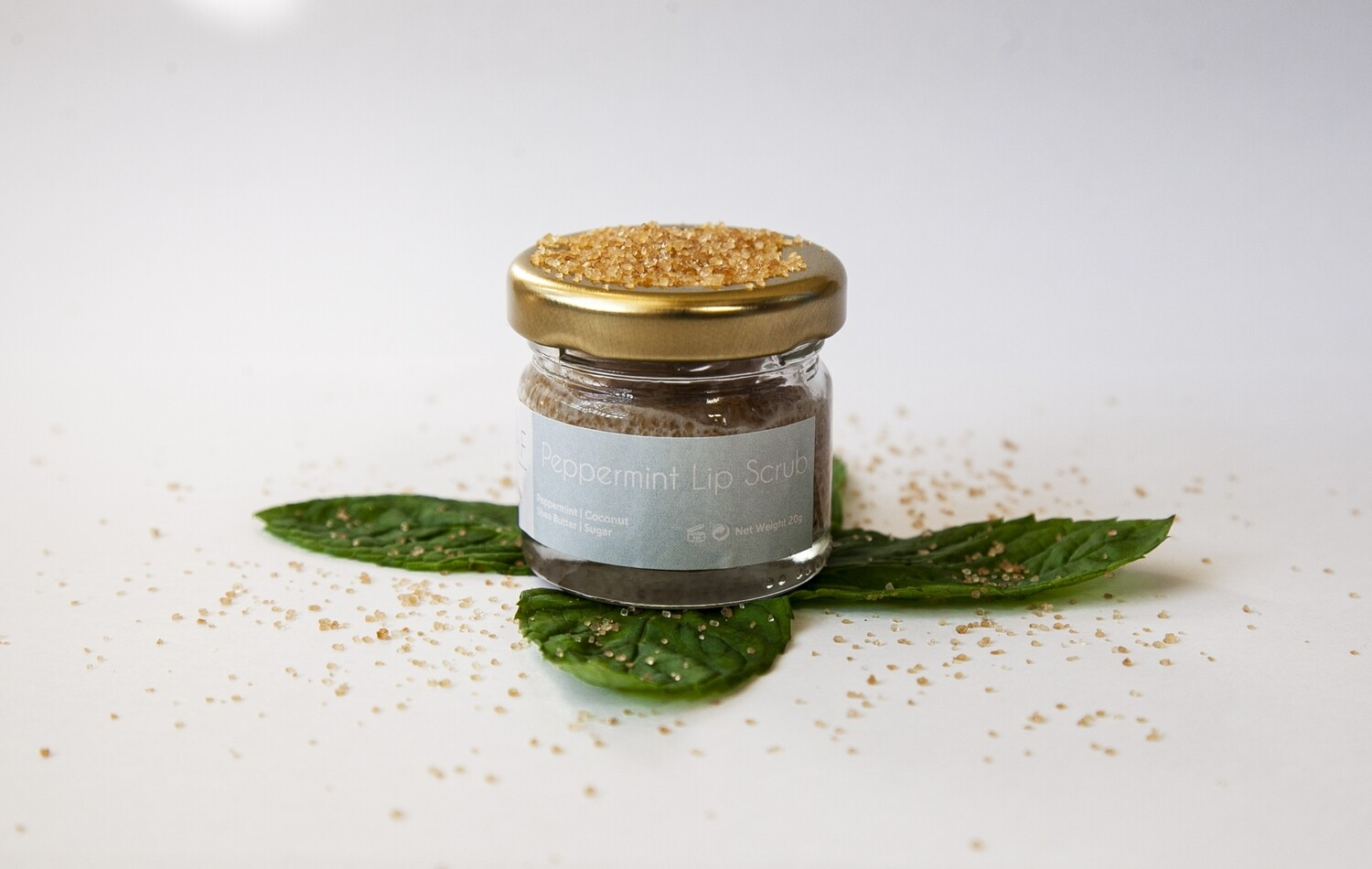 Lip Scrubs Peppermint مقشر الشفاه (Jar) - Oleaf