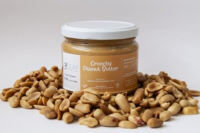 Peanut Butter Crunchy دهن ازبدة الفول السوداني عادي مقدد (Jar) - Oleaf