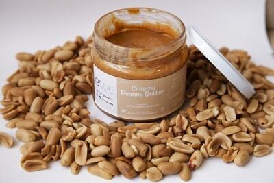 Peanut Butter Creamy دهن زبدة الفول السوداني عادي كريم (Jar) - Oleaf