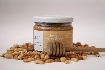 Peanut Butter Honey دهن زبدة الفول السوداني عسل (Jar) - Oleaf