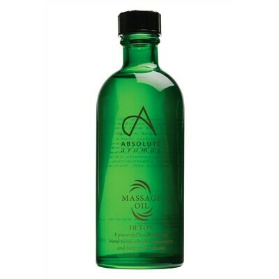 Massage Oil Blend Detox (Bottle) - Absolute Aromas