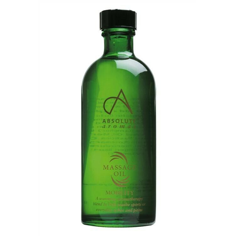 Massage Oil Blend Mobility (Bottle) - Absolute Aromas