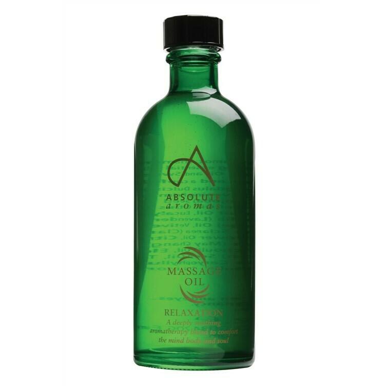 Massage Oil Blend Relaxation (Bottle) - Absolute Aromas