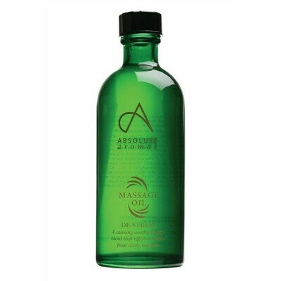 Massage Oil Blend De-Stress (Bottle) - Absolute Aromas