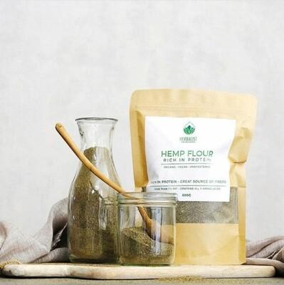 Pure Hemp Flour Organic (Bag) - Herbalist