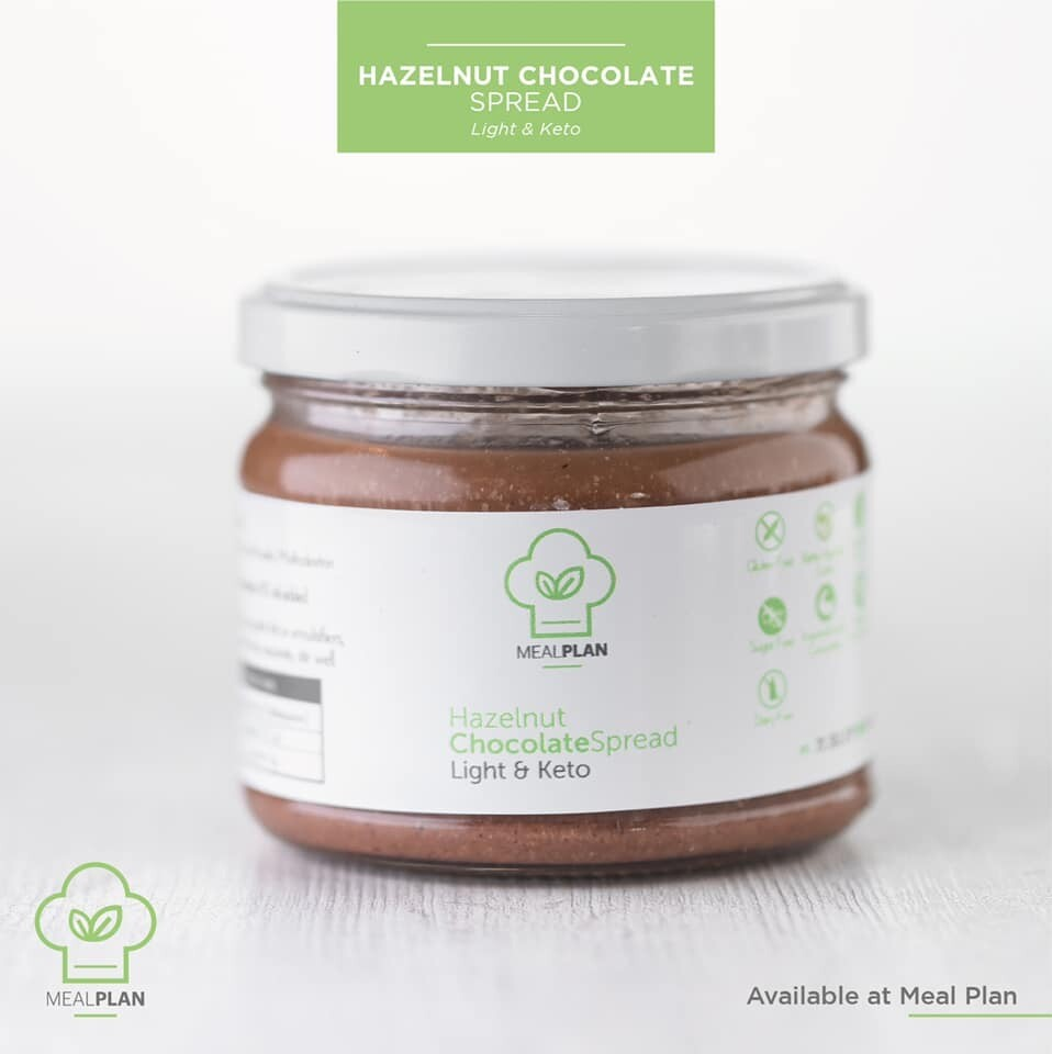 Hazelnut Chocolat Spread (Jar) - Meal Plan