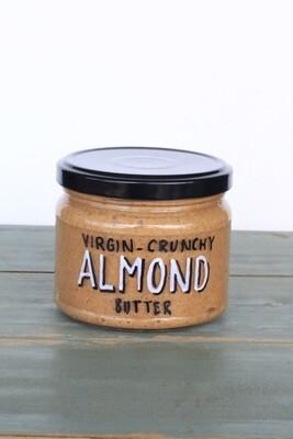 Almond Butter Crunchy زبدة اللوز (Jar) - Celine Home Made Delights