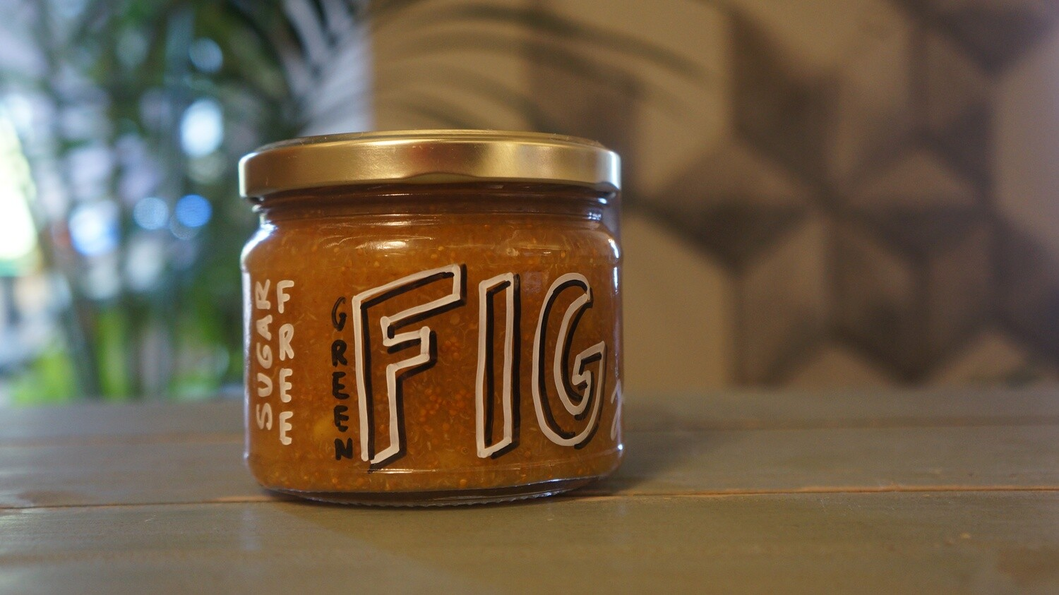 Fig Green Jam مربى التين الأخضر (Jar) - Celine Home Made Delights