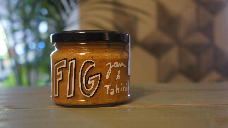 Fig Jam and Tahini مربى التين والطحينة (Jar) - Celine Home Made Delights
