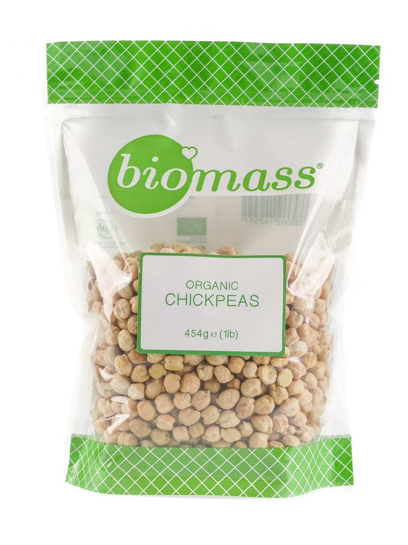 Chickpeas / Garbanzo Bean Organic حمص / غاربانزو فول عضوي (Bag) - Biomass