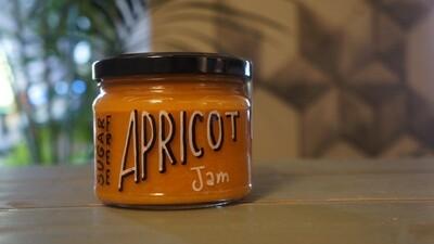 Apricot Sugar-Free Jam مربى المشمش الخالي من السكر (Jar) - Celine Home Made Delights