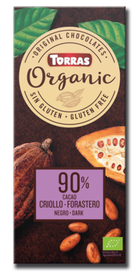 Chocolate Dark 90% Cacao Organic دقيق اللوز عضوي (Bag) - Nabat